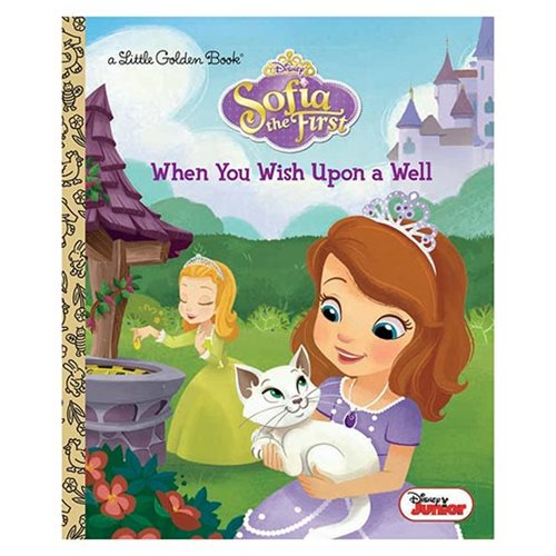 Sofia the First When You Wish Upon a Well Little Golden Book