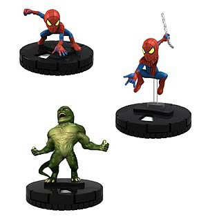 The Amazing Spider-Man Movie HeroClix TabApp 3-Pack