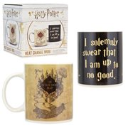 Harry Potter Marauder's Map Heat Change Mug