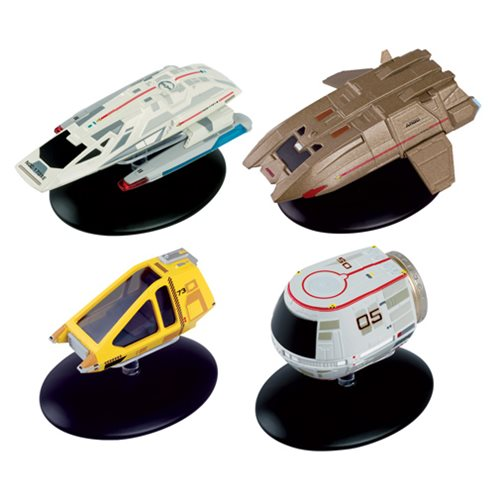 Star Trek Starships Collection Shuttlecraft Set 3 4-Pack