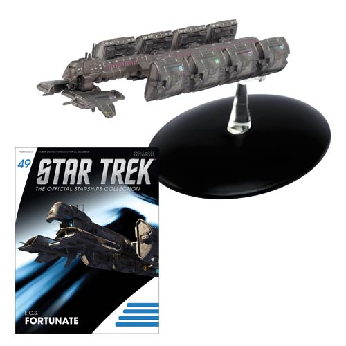 Star Trek Starships ECS Fortunate Vehicle with Collector Magazine