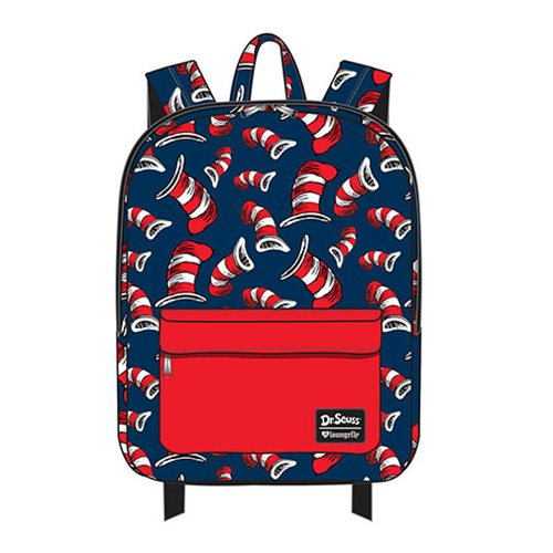 Dr. Seuss Cat in the Hat Print Nylon Backpack