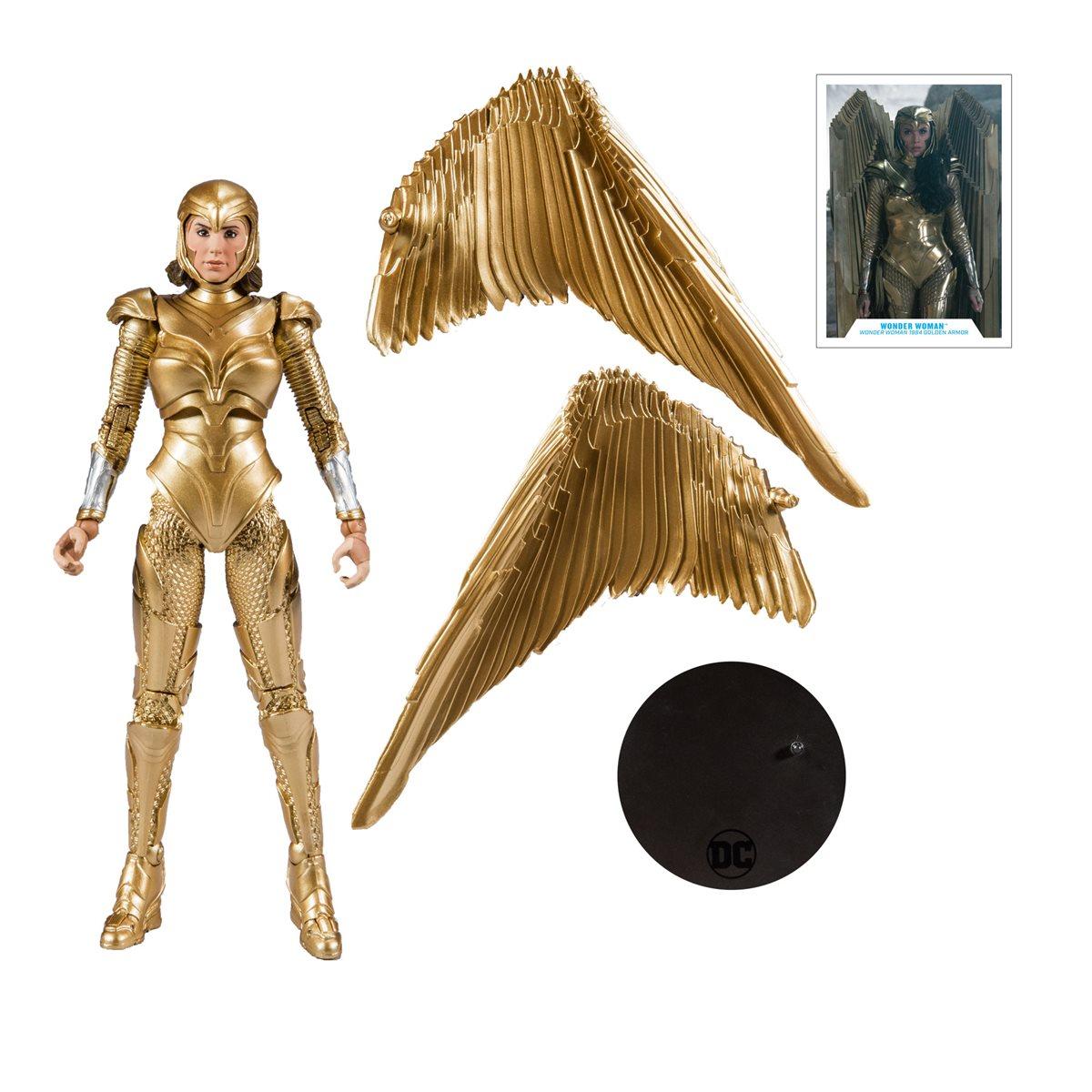 "Wonder Woman DC Multiverse 7"" Action Figure Wonder Woman 1984"