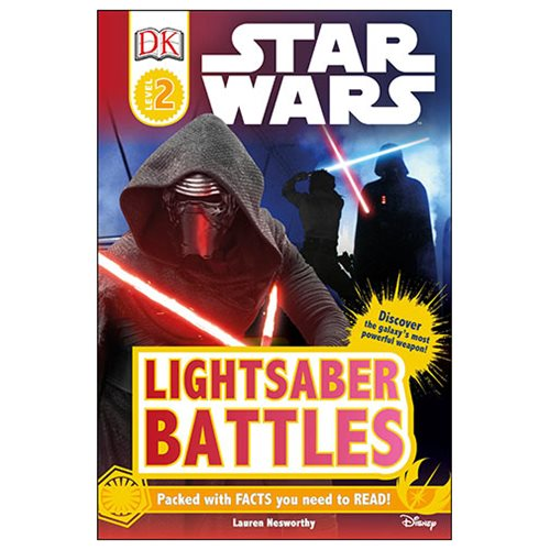 Star Wars Lightsaber Battles DK Readers 2 Hardcover Book