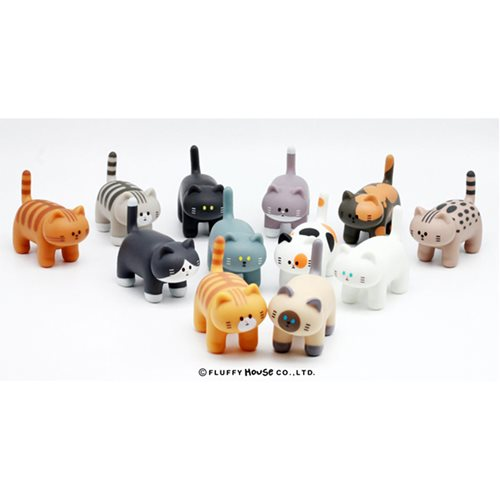 My Home Cat Series 1 Random Blind Box Vinyl Figure 12-Piece Case Pack