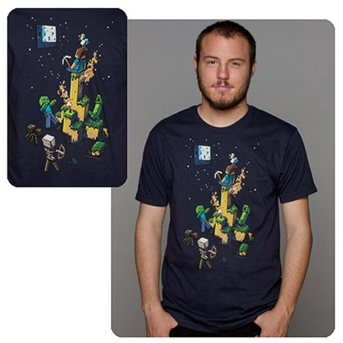 Minecraft Tight Spot Premium T-Shirt