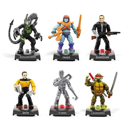 Mega Construx MCX Heroes Mini-Figure Series 3 Display Box