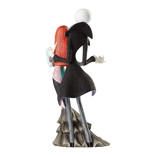 Disney Showcase Nightmare Before Christmas Jack Skellington and Sally Deluxe Statue