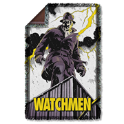 Watchmen Perched Woven Tapestry Throw Blanket