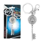 Ready Player One Crystal Key Pewter Key Chain