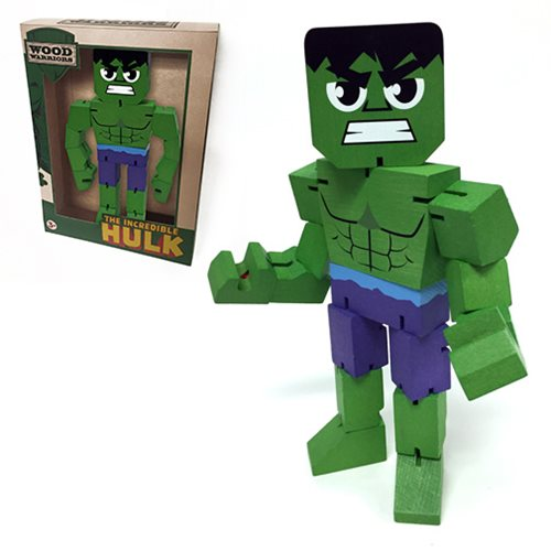 The Hulk Wood Warriors Action Figure