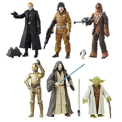 Star Wars: The Last Jedi Teal 3 3/4-Inch Action Figures Wave 2 Case