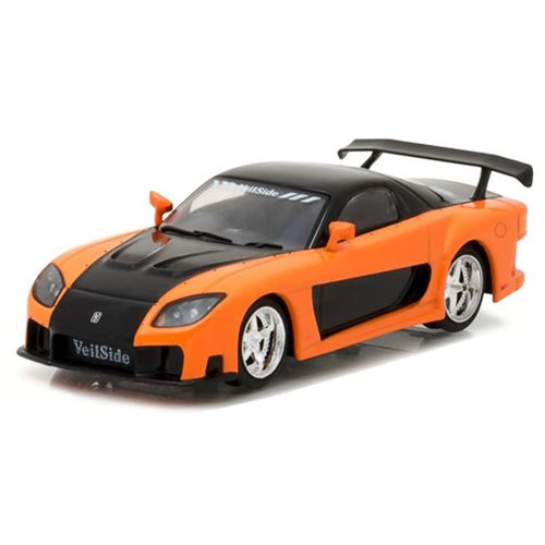 The Fast and the Furious Tokyo Drift Movie 1997 Mazda RX-7 1:43 Scale Die-Cast Metal Vehicle
