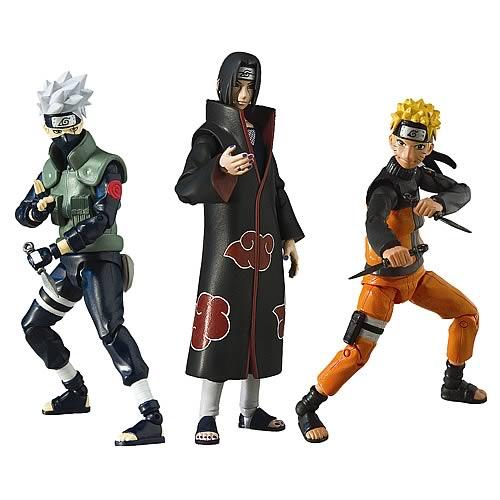 Naruto Shippuden série 1 4 In Action Figure Anime environ 10.16 cm