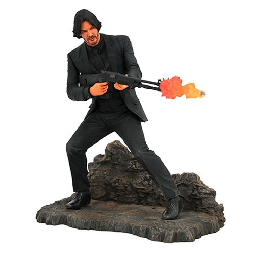 John Wick Gallery Catacombs Statue
