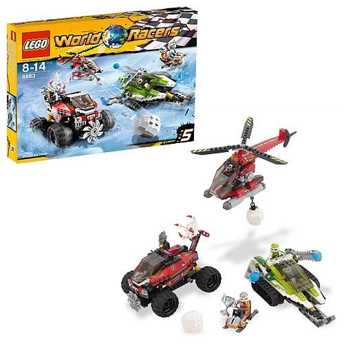 LEGO World Racers 8863 Blizzard's Peak - Entertainment Earth