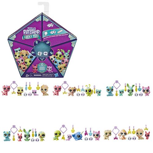 Littlest Pet Shop Lucky Pets Fortune Crew Surprise Wave 1