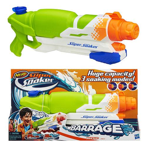 Super Soaker SOA Barrage