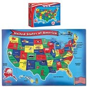 U.S.A. Map Floor 51-Piece Puzzle