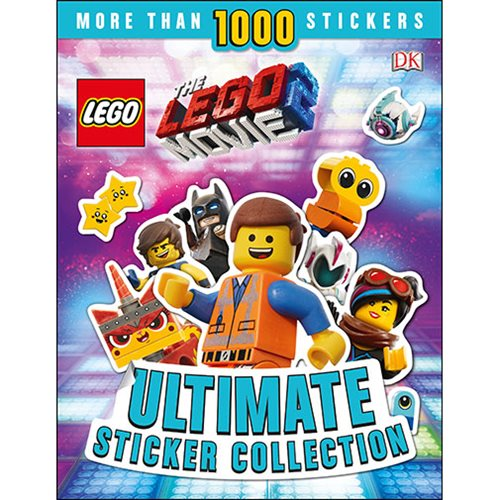 The LEGO Movie 2 Ultimate Sticker Collection Paperback Book