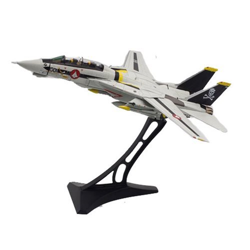 Robotech 1:72 Scale F-14 S Skull Leader Die-Cast Metal Vehicle