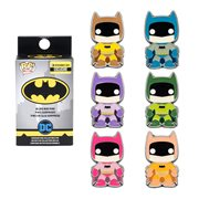Batman Rainbow Pop! Blind-Box Random Enamel Pin - Entertainment Earth Exclusive