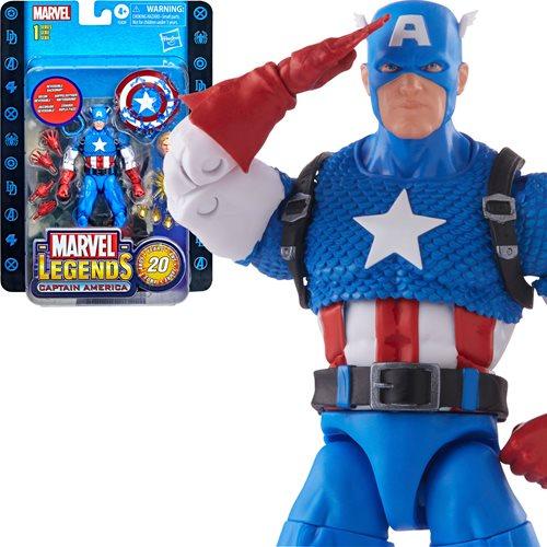 Marvel Legends Retro Captain America 6-Inch Action Figure