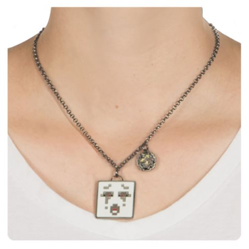 Minecraft Ghast Necklace