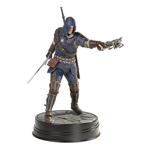 The Witcher 3 Wild Hunt Geralt Grandmaster Feline Figure, Not Mint