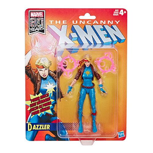 X-Men Retro Marvel Legends 6-Inch Dazzler Action Figure