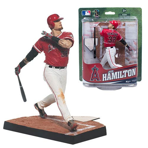 MLB Los Angeles Angels Josh Hamilton 7-Inch Action Figure