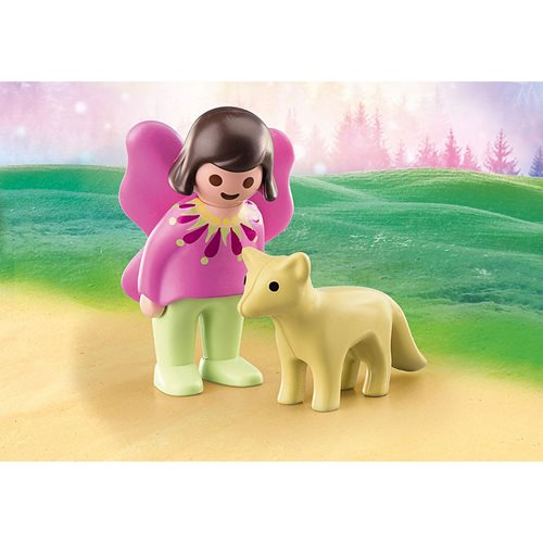 Playmobil 1.2.3 70403 Fairy Friend with Fox