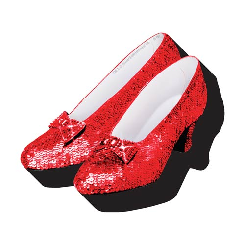 Wizard of Oz Shoes Funky Chunky Magnet