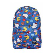 Hello Kitty Pac-Man Character Print Nylon Backpack