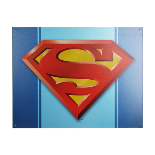 Superman Logo DC Comics Tin Sign