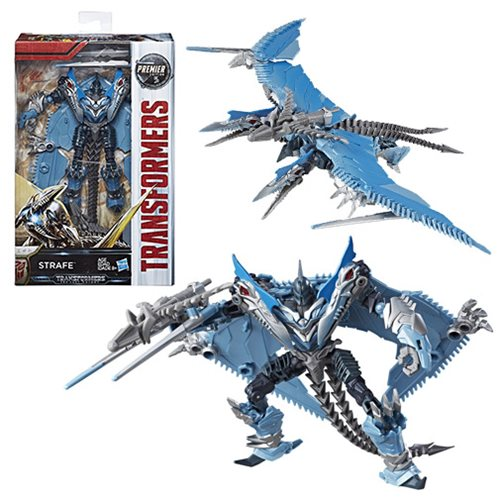 Transformers The Last Knight Premier Deluxe Strafe, Not Mint
