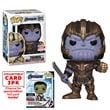 Avengers: Endgame Thanos Pop! with Collector Cards - EE Excl
