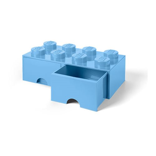 LEGO Light-Blue Brick Drawer 8