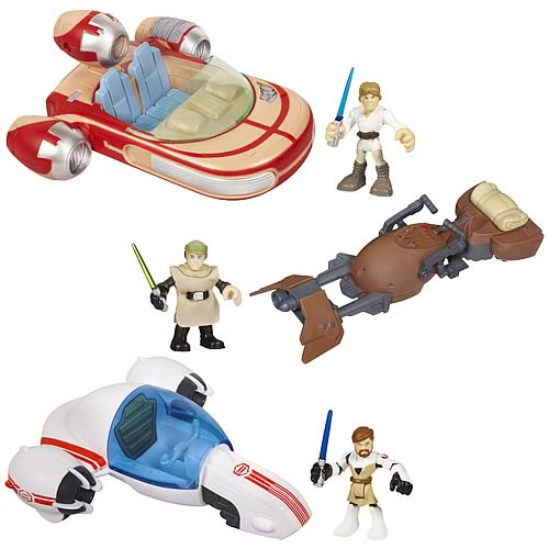 Star Wars Jedi Force Vehicles Wave 2