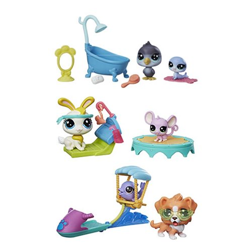 Littlest Pet Shop Adorable Adventures Sets Wave 1 Set