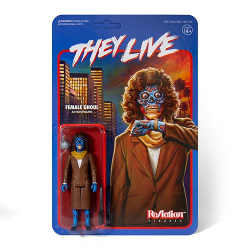 They Live Female Ghoul 3 3/4-Inch ReAction Figure