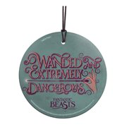 Fantastic Beasts and Where to Find Them Wanded and Dangerous StarFire Prints Hanging Glass Ornament