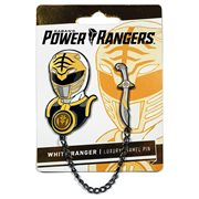 Mighty Morphin Power Rangers White Ranger Lapel Pin Set