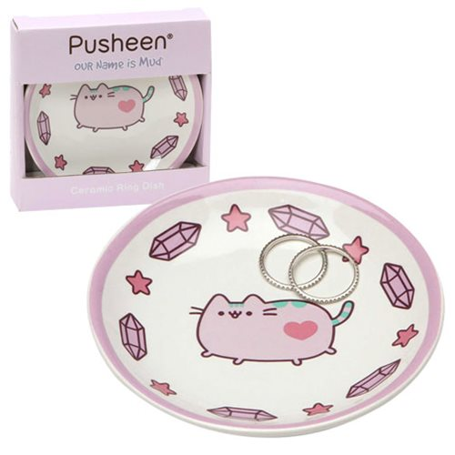 Pusheen the Cat Purple Trinket Tray
