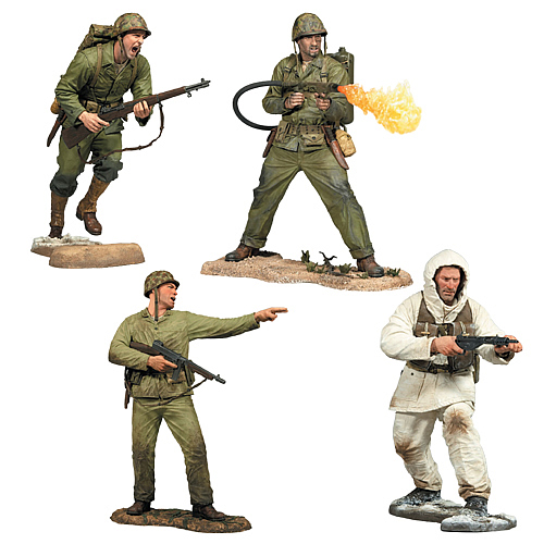 Call of Duty WWII Action Figure Set