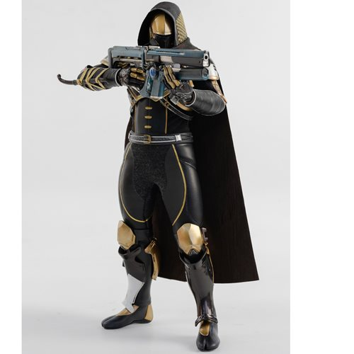 Destiny 2 Hunter Sovereign Golden Trace Shader 1:6 Scale Action Figure