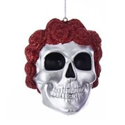 Grateful Dead Rose Crown Blow Mold Ornament, Not Mint