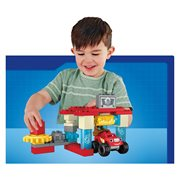 Mega Bloks Blaze Axle City Truck Wash Playset