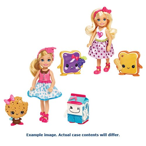 Barbie: Dreamtopia Chelsea Sweet Treats Dolls 2-Pack Case