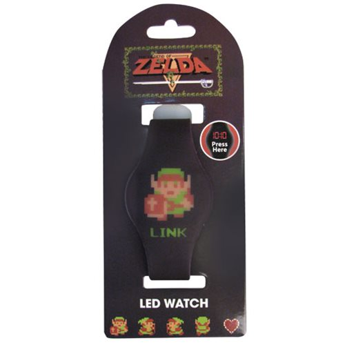 Legend of Zelda 8-Bit Link LED Watch